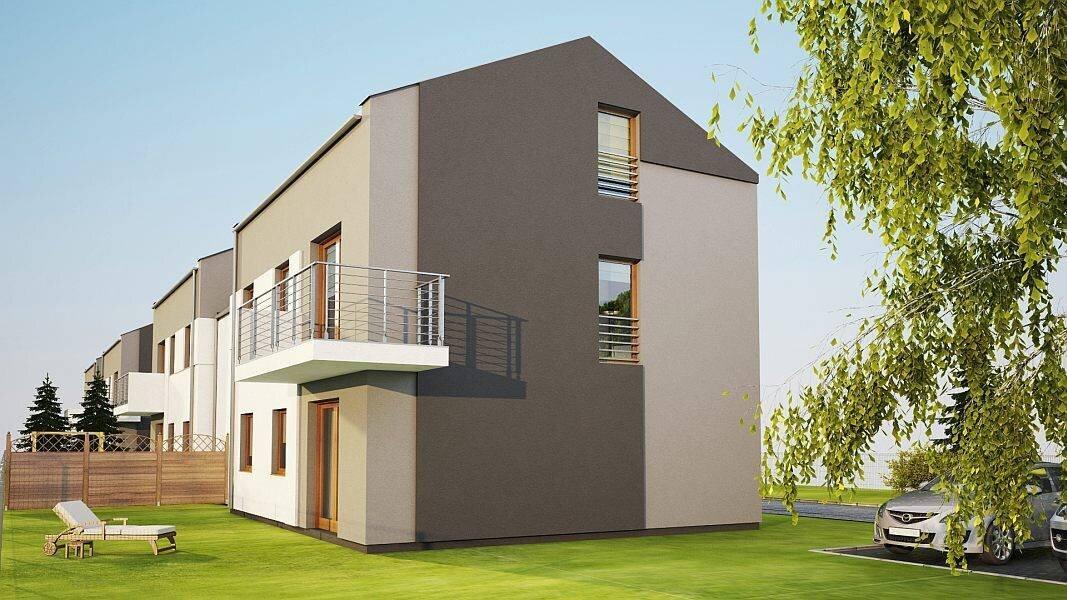 chronos development wille apartamenty poniatowskiego luboń domy w zabudowie bliźniaczej domy szeregowe