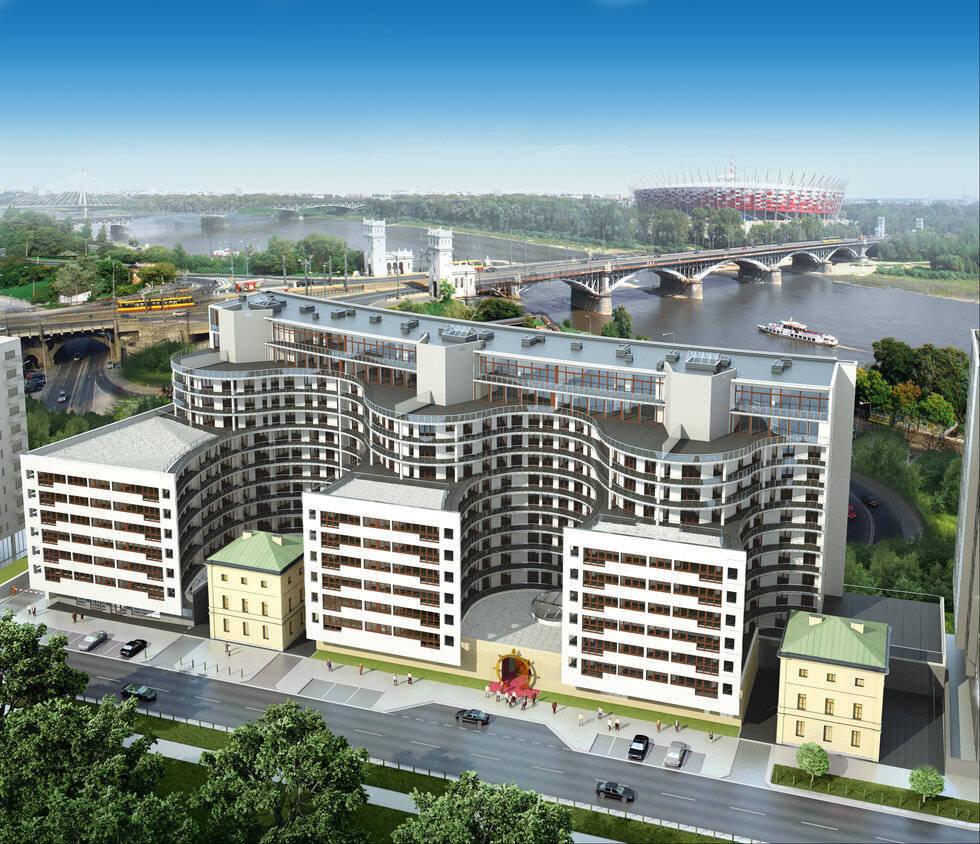 euro city apartamenty solec warszawa śródmieście powiśle