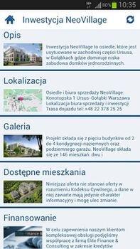 aplikacja na smartfona neocity mieszkania na sprzedaż ursus