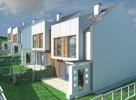 charzykowskie wzgórze nowe domy