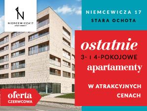 Zobacz oferty Apartamenty Niemcewicza 17!