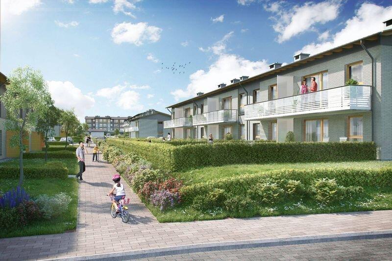 Niesamowite Osiedle Kazimierz, nowe mieszkania, Gdańsk, Maćkowy, ul. Jagiełły YI62