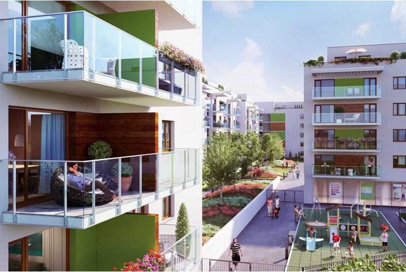 bemowo park nowe mieszkania warszawa bemowo g rce ul. Black Bedroom Furniture Sets. Home Design Ideas